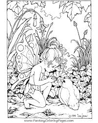 Fairy Coloring Pages Inspiration Graphic For Adults To Print