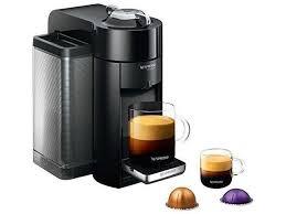 Nespresso GCC1 US BK NE VertuoLine Evoluo Deluxe Coffee And Espresso Maker