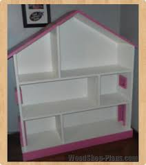 dollhouse bookcase woodworking plans woodshop plans