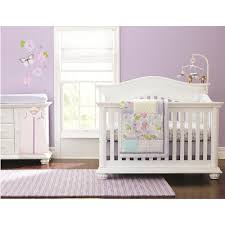 Bacati Crib Bedding by Just Born Girls Bella 6 Piece Crib Bedding Set Just Born