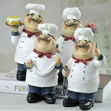 Chef Decor For Kitchen by Restaurant U0026 Kitchen French Country Décor Figurines Ebay