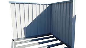 Arrow Metal Shed Floor Kit by Metal Shed Assembly Youtube