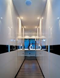stainless steel table l with shade hallway wall ideas