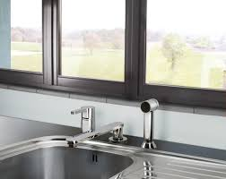 sink fossettitchen faucets menards farmhouse with drainboardohler