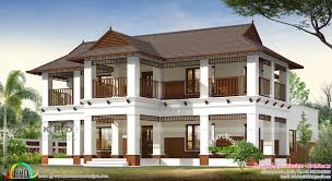 100 Home Designed 3254 Square Feet 4 Bedroom Traditional Kerala Home Design
