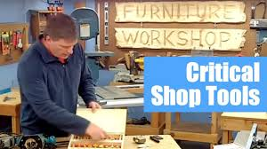 set up a woodworking shop critical tools youtube