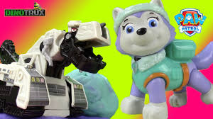 100 Dino Trucks PAW PATROL Everest Rescues DINOTRUX Reptools From DStructs