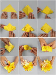 How To Make A Flower Out Of Paper Step By Easy Diy Making Tutorials K4