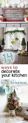 Kitchen Decor Christmas Decorating Hacks DIY Holiday