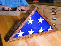 Making A Memorial Flag Case