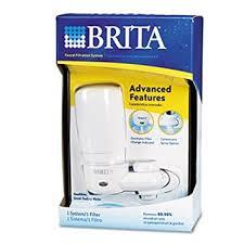 brita on tap system faucet water filter faucet mount water