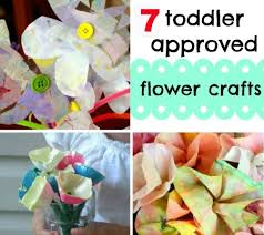 7 Super Simple Flower Crafts For Toddlers