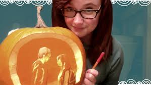 Tinkerbell Face Pumpkin Template by Diy Pumpkin Carving Tool Youtube