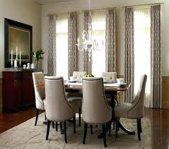 Unique Dining Room Curtains Bay Window Curtain Rod Back Tab Domestic Imperfection Fantastic