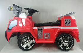 100 Kid Trax Fire Truck 6V Rescue Quad RideOn 1931421279