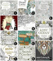 Excellent Design Ideas Best Adult Coloring Books The
