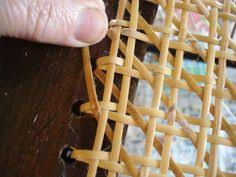 Chair Caning Instructions Youtube by Restoring The Cane Seat In A Historic Chair Youtube Home