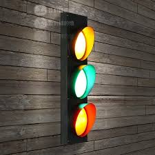 traffic signal led wall ls american country style wall lights
