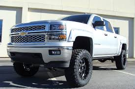100 Chevy Trucks 2014 One Clean Silverado Pocket Style Fender Flares Pickup