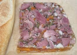 pate de tete de porc maison dictionnaire de cuisine et gastronomie fromage de tête