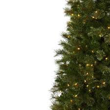 Shop Cashmere Slim 75 Foot Christmas Tree With Clear Lights