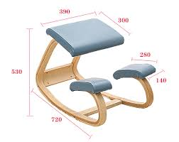 Ergonomic Office Kneeling Chair For Computer Comfort by Original Ergonomic Kneeling Chair Stool Leather Seat Home Office