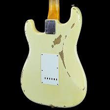 Fender Custom Shop 1959 Stratocaster Heavy Relic HSH Vintage White