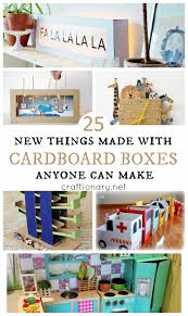 New Cardboard Box Projects I Hope You Liked These DIY Ideas
