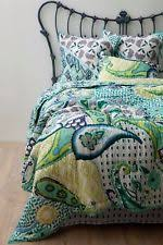 Anthropologie Daydreamer Queen Bed Skirt NIP S O Hothouse Quilts Collection