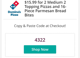 Dominos Coupon Codes Medium 2 Topping Pizza / Bank Of ...