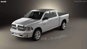 100 57 Dodge Truck 360 View Of Ram 1500 Crew Cab Big Horn 2017 3D Model Hum3D Store