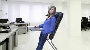 LeanChair The portable reclining standing desk by Wayne Yeager
