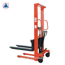 100 Hydraulic Hand Truck Cheap Stacker Pallet Manual Forklift Buy