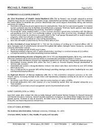 Insurance Resume Examples Life Sample Health