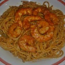 pate a la tunisienne spaghettis à la tunisienne aux crevettes recette de spaghettis à