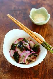 cuisine japonaise recette facile algue wakamé recette de salade japonaise laure kié