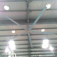 hvls ceiling fan plant installed industrial ceiling fan with large