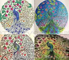 Posh Colouring Book Art Therapy Enchanted Forest Secret Garden An Inky Quest