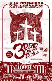Halloween 3 2016 Imdb by The Horrors Of Halloween Trailer For 3 Dead Trick Or Treaters
