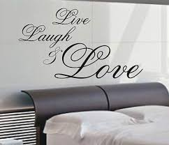 Chic Design Live Laugh Love Wall Art With 28 039 Vinyl Decal Today 1799 1899 50 3 Com Diy Canvas