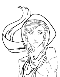 Rahab LineART By Saltares2 On DeviantArt And Coloring Pages