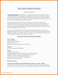 Sample Resume Call Center Agent With Experience Nice For Images Gallery
