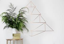 Copper Geometric Christmas Tree