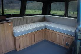 Camper Van Conversion Example Layouts