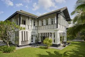 100 Singapore House S Tudor Homes Offer Luxury In Black And White WSJ