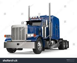 Blue 18 Wheeler Truck No Trailer Stock Illustration 766137775 ...