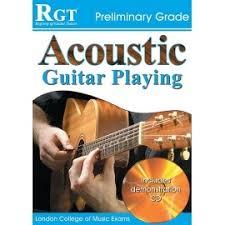 preli guitare a le acoustic guitar preliminary grade