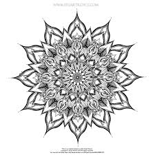 OrnaMENTALs Tribal Triptych Coloring Page