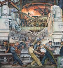 Diego Rivera Rockefeller Mural Analysis by Detroit U0027s Murals Offer Perspectives On America Local News
