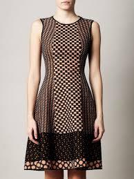 missoni traforato patch tri knit dress for women fosoz